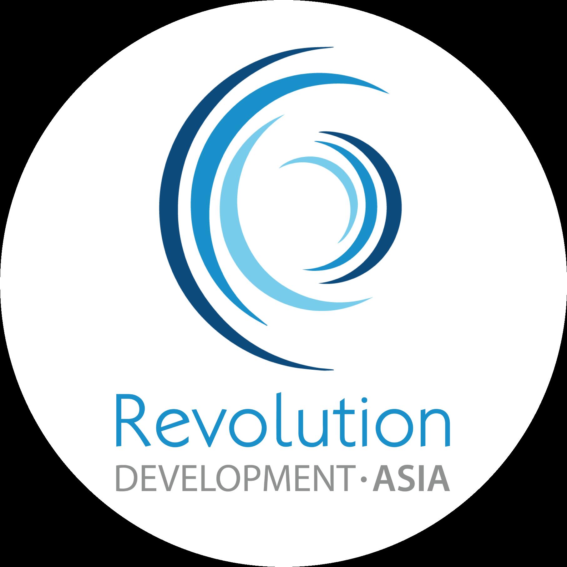 Revolution logo circle